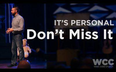 It's Personal: Don't Miss It Video